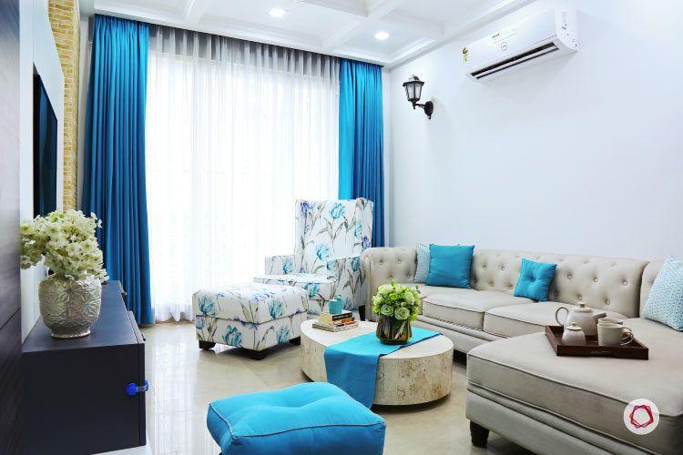 Noida interior design_living room