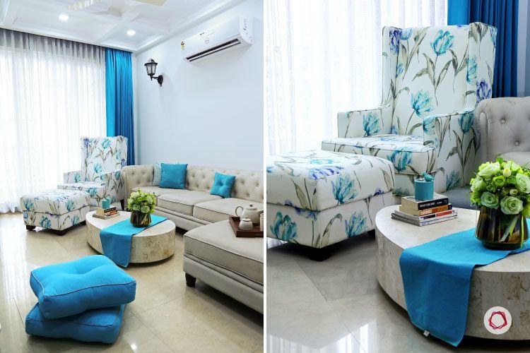 Noida interior design_accent chair