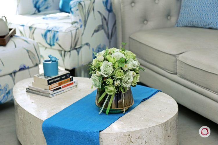 Noida interior design_round corner table