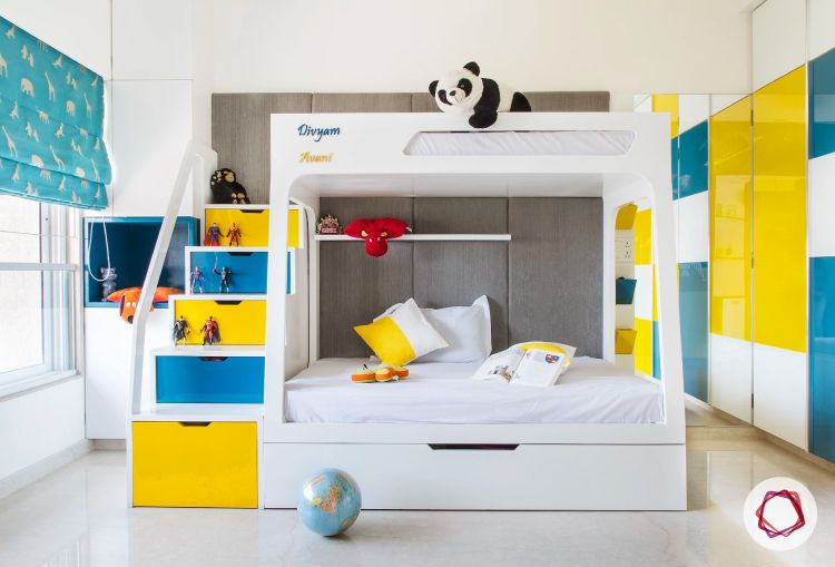 Mumbai interior design_kids bedroom