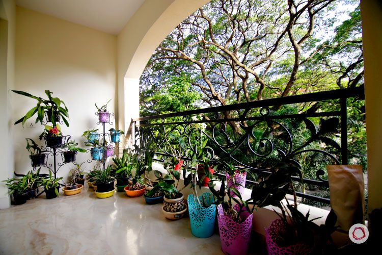 Bangalore_interior design_balcony