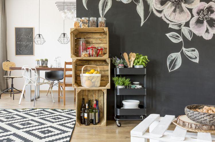 Dining room storage ideas