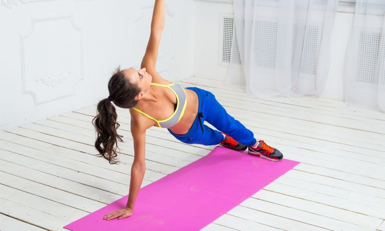 home gym-yoga mat