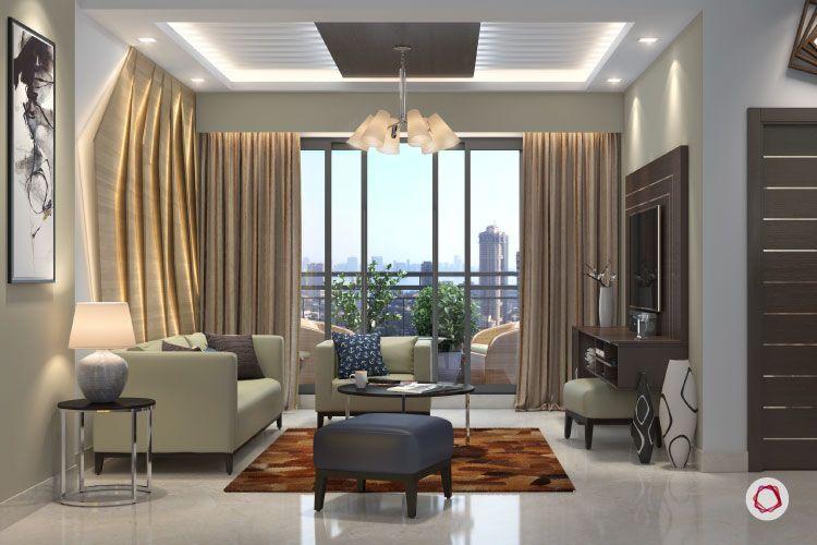 Bangalore interior design_cove panelling