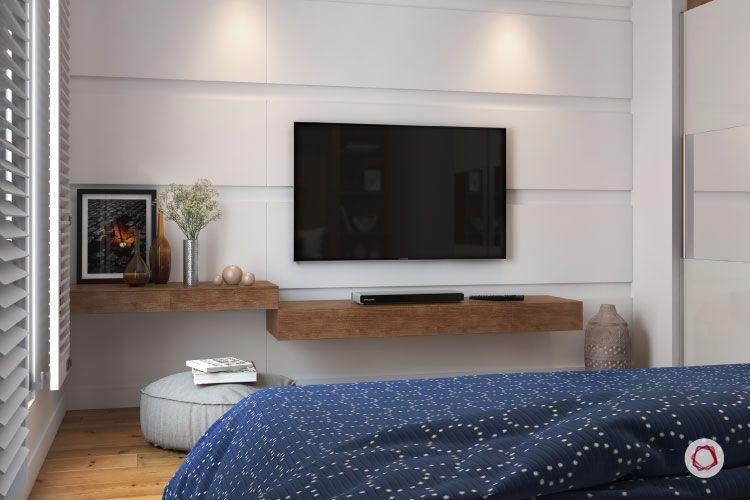 Bangalore interior design_floating shelves