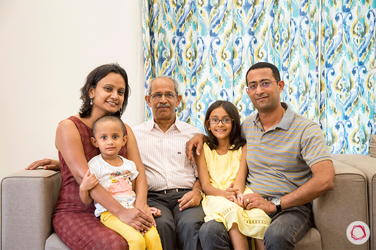 Simple Banaglore interior design_family