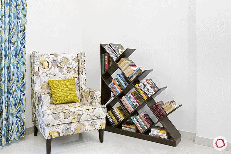 Simple Bangalore interior design_reading corner