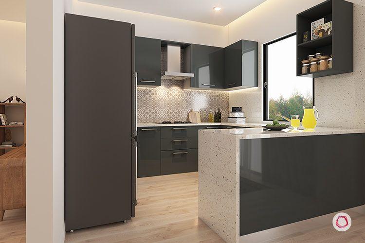 interior design bangalore sekhar hydepark - kitchen