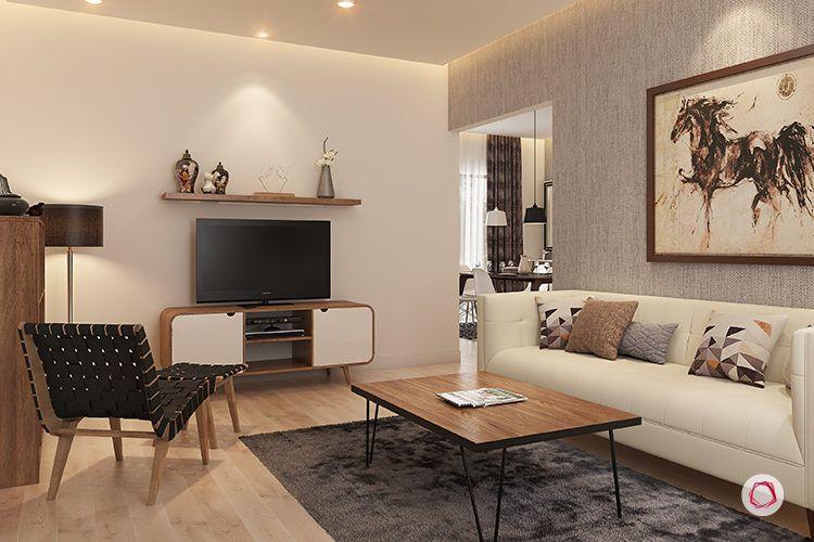 interior design bangalore sekhar hydepark - TV unit