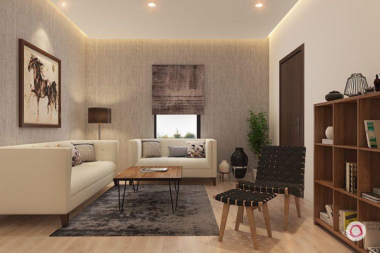 interior design bangalore sekhar hydepark - living room
