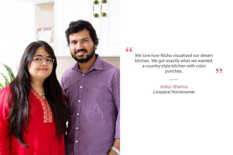 white bangalore kitchen design_Ankur and Sheekha