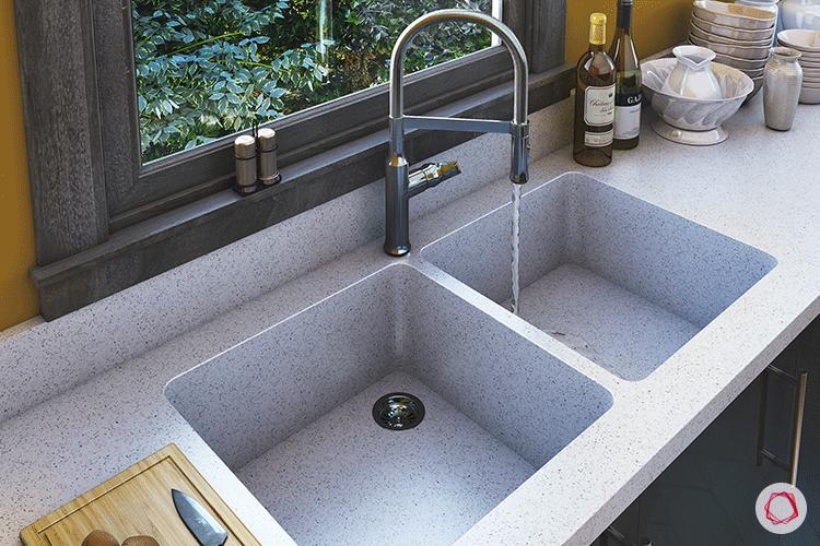 One Piece Kitchen Countertop And Sink Designs