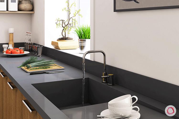 One piece sink_glossy