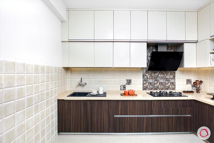 Kitchen with loft - sink area