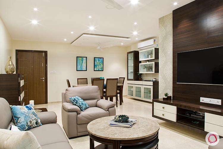 Mumbai interior design_living room