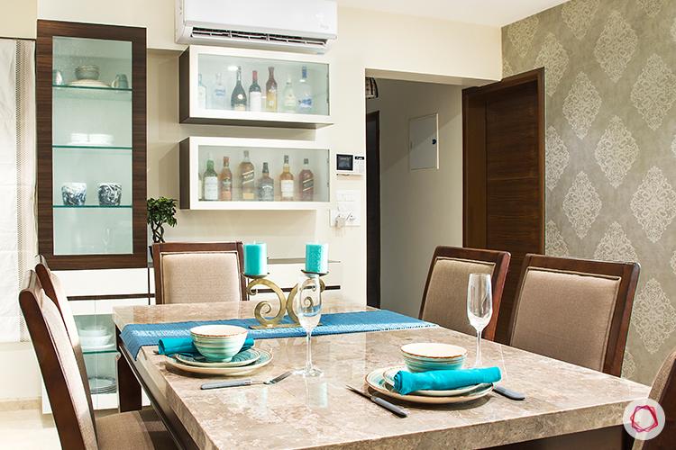 Mumbai interior design_dining room