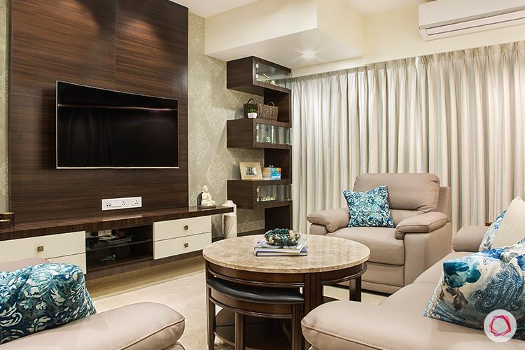 Mumbai interior design_living