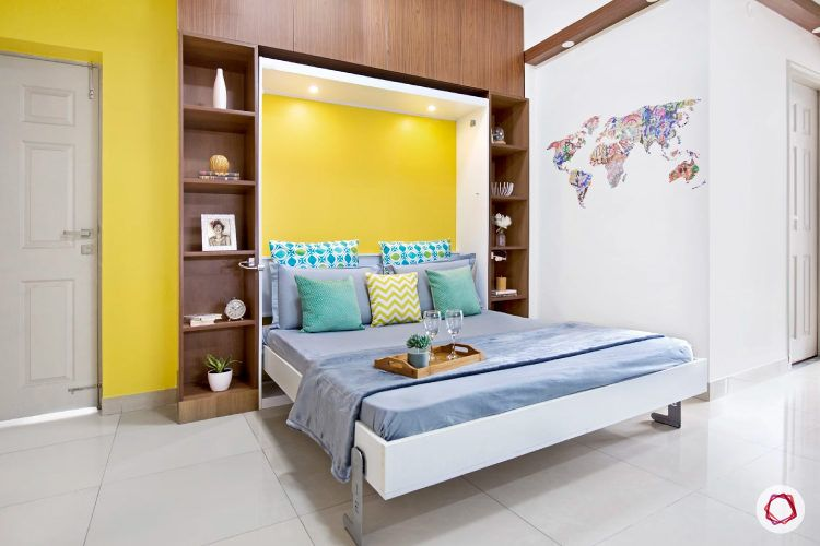 Young adult's bedroom
