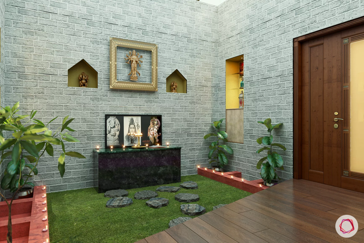 materials for pooja room