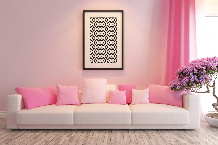 painting ideas-pink