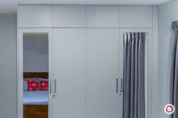 3BHK interiors bangalore wardrobe