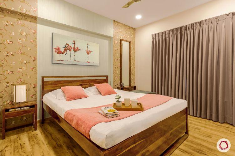3BHK interiors bangalore parents' room
