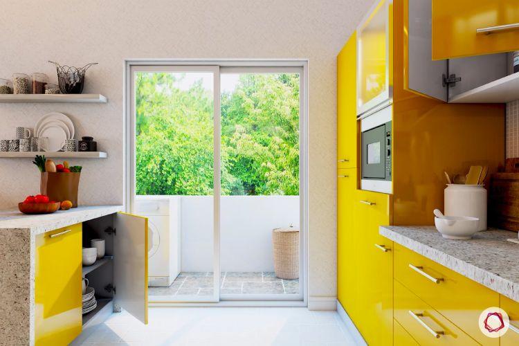 termite-free kitchen sunlight