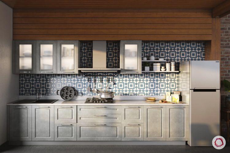 geometric patterns - kitchen