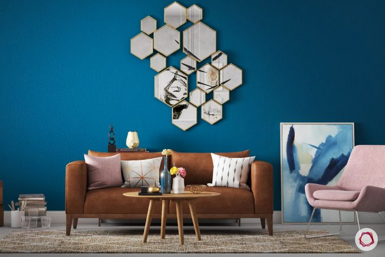 geometric patterns - wall accent