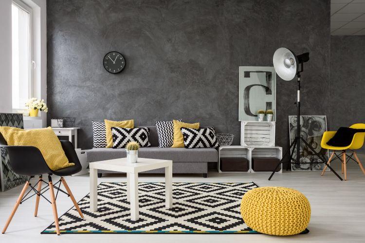 geometric patterns - furnishings