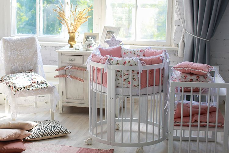 repurpose baby cradle