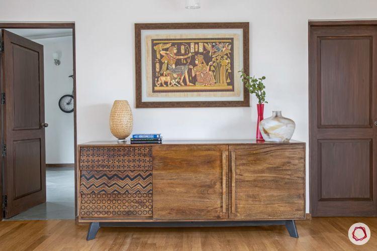 home interiors at Kengeri villa-drawers