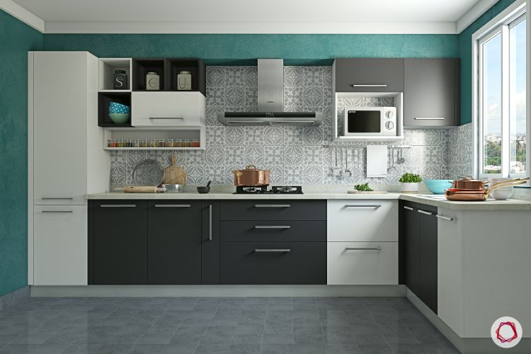 Modular kitchen vs carpenter-made kitchen_subtle kitchen