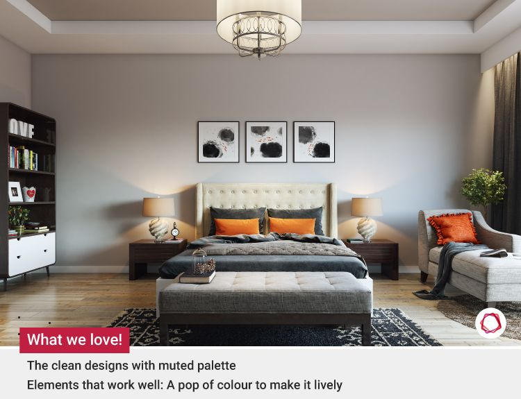 Neutral room colours