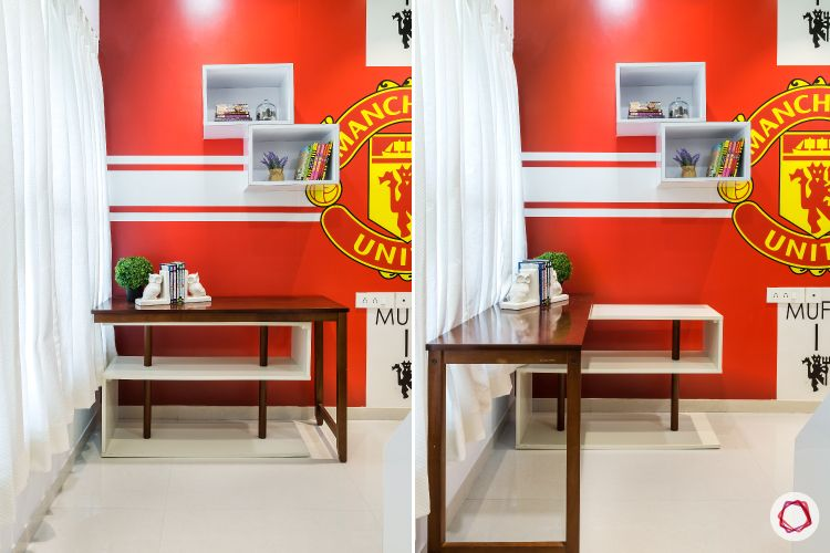 Home Decor Ideas in Red - Manchester United Wall