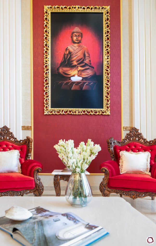 Home Decor Ideas in Red - Luxurious Living Close up