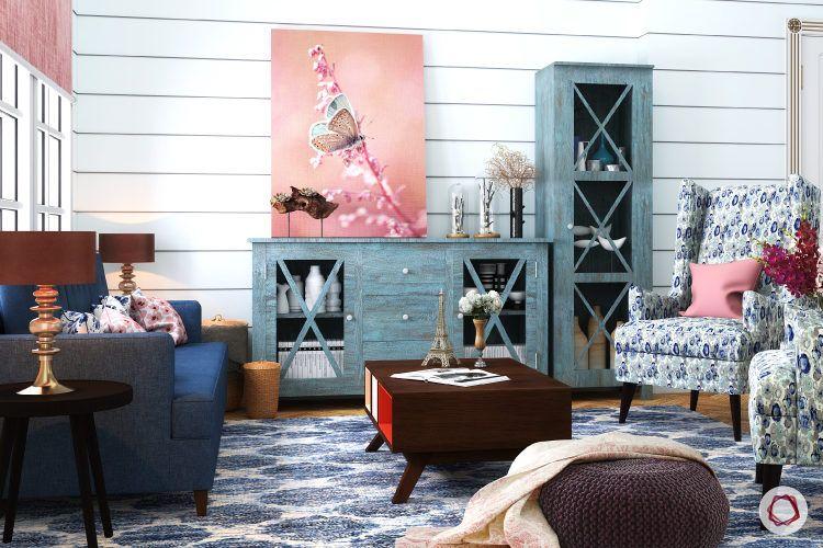 Blue colour rooms