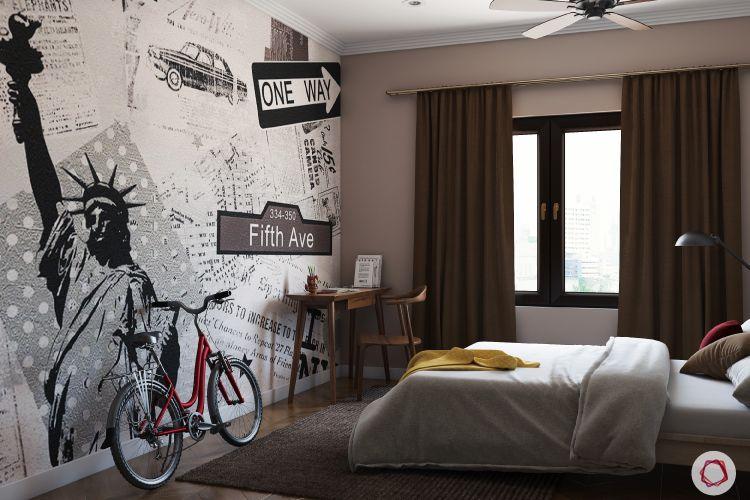 kids' Room design-earthy