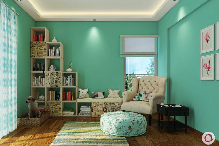 kids' Room design-pastel green