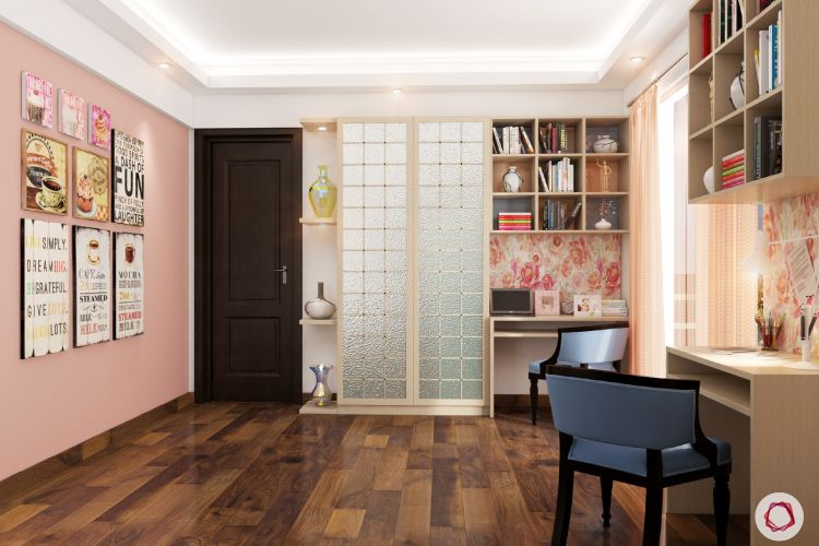 kids' Room design-frosted glass
