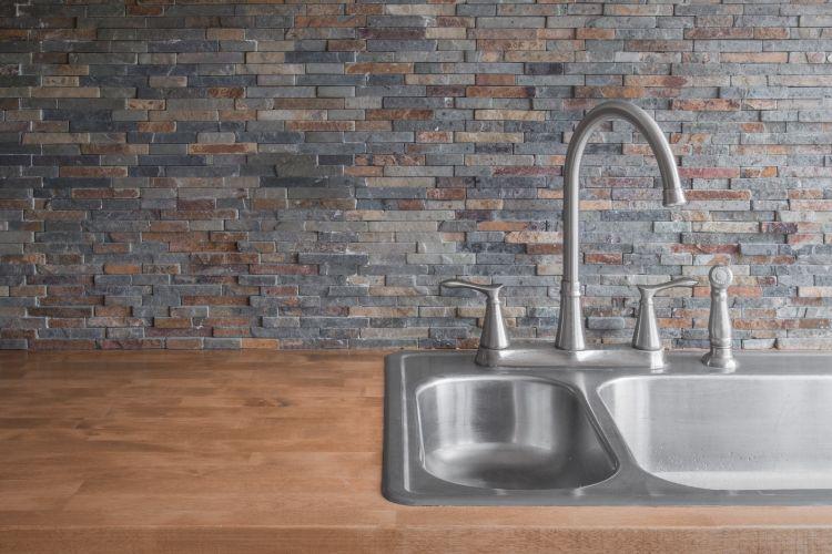 Kitchen Tiles-wooden kitchen countertop designs-stone backsplash designs