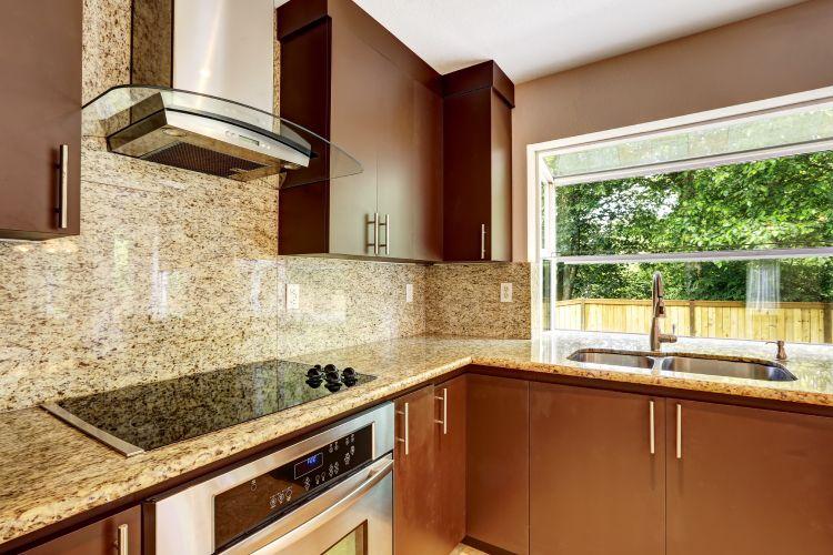 kitchen tiles-granite backsplash for kitchen-brown kitchen cabinet designs