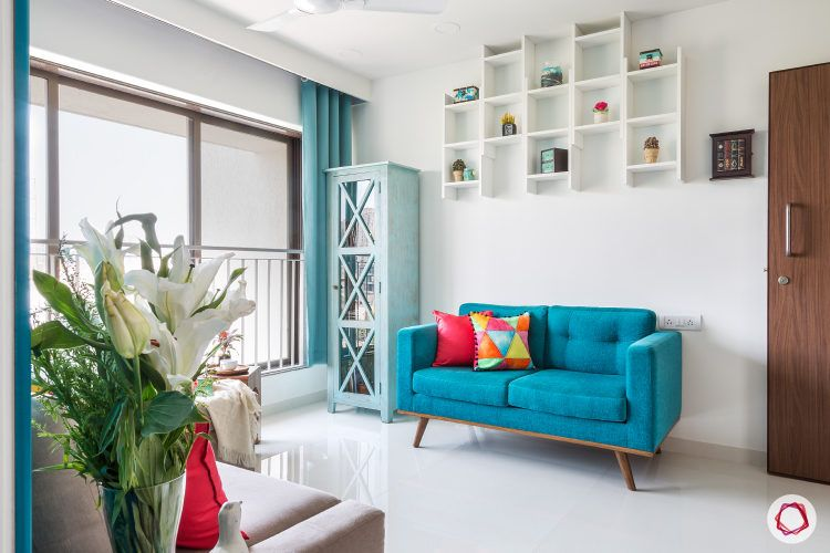 Goregaon home design-blue interiors design