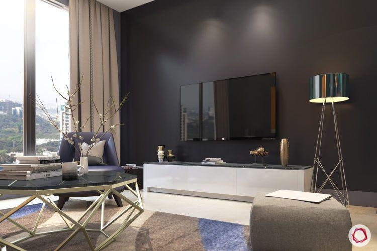 kangana ranaut manali home-compact tv unit-centre table-floor lamo