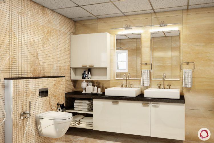 cabinets-upper-lower-vanity-toilet-mirror-two-sink