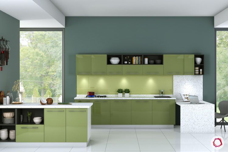 Open kitchen design