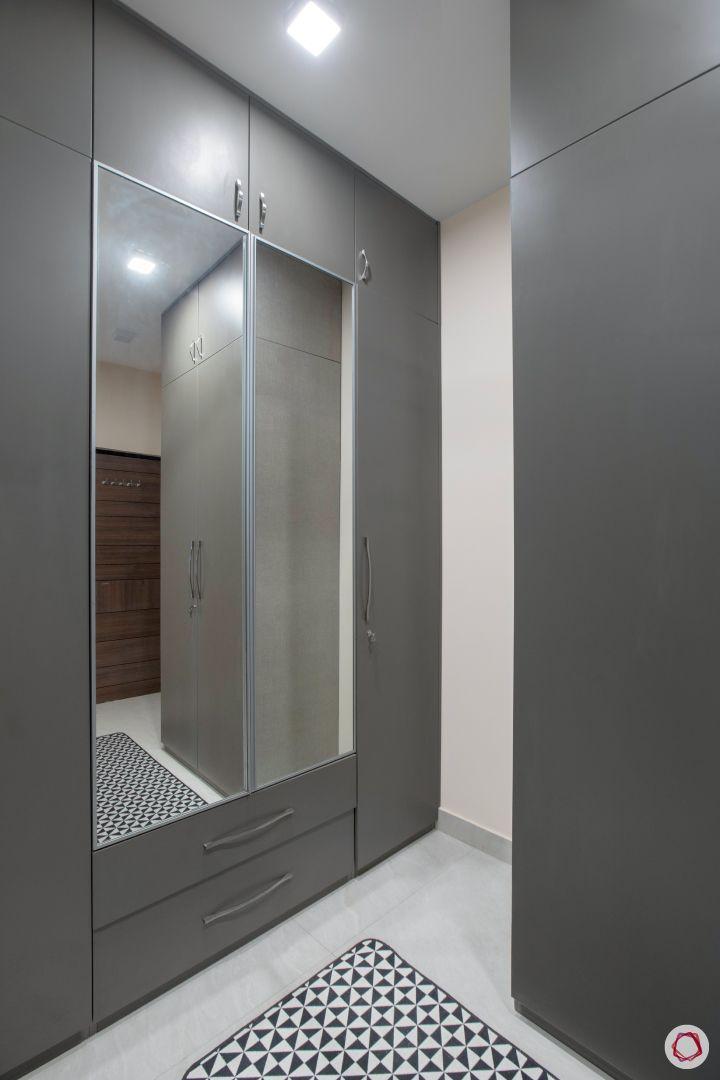 House interior-wardrobe