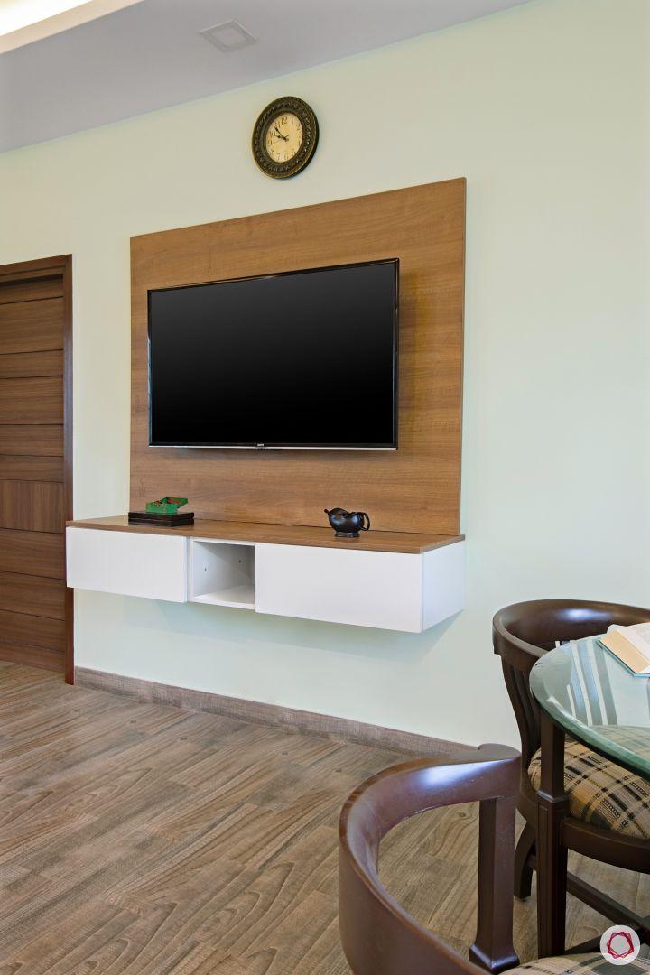 House interior-entertainment unit-bedroom