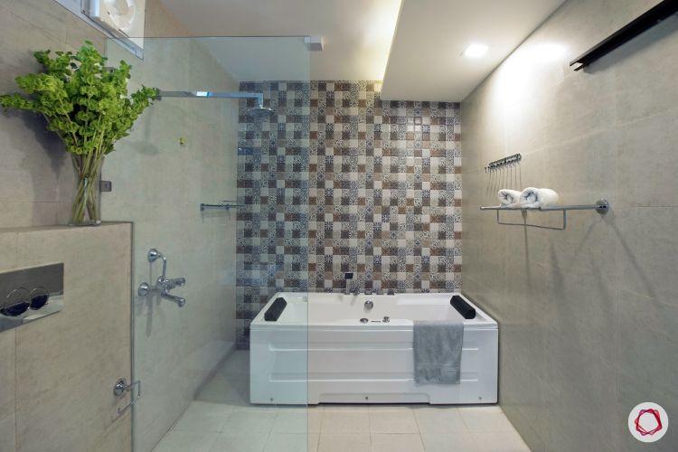 House interior-bathtub-tiles