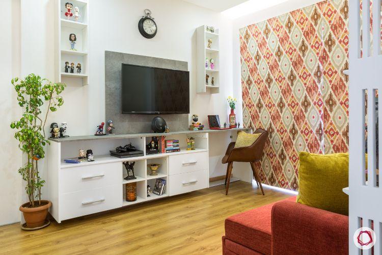 flat design-entertainment unit